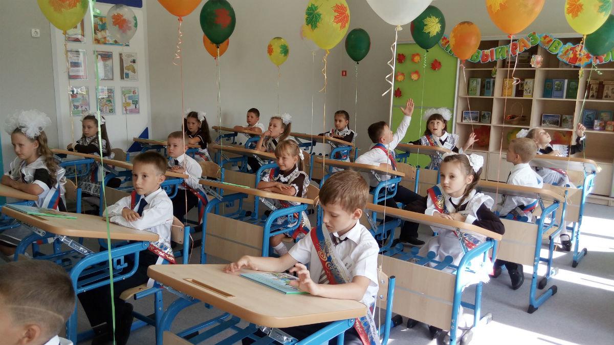 Под Белгородом в новом микрорайоне открылась школа с режимом полного дня, фото-6