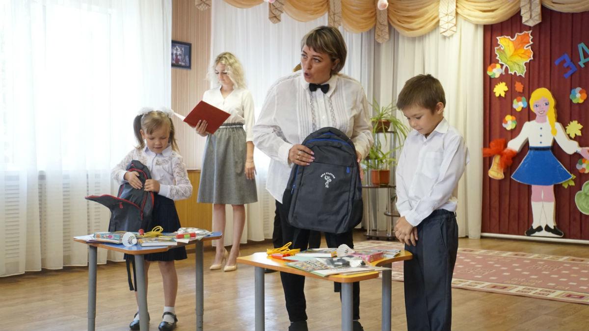 Сергей Фуглаев поздравил с Днём знаний детей из реабилитационного центра, фото-10