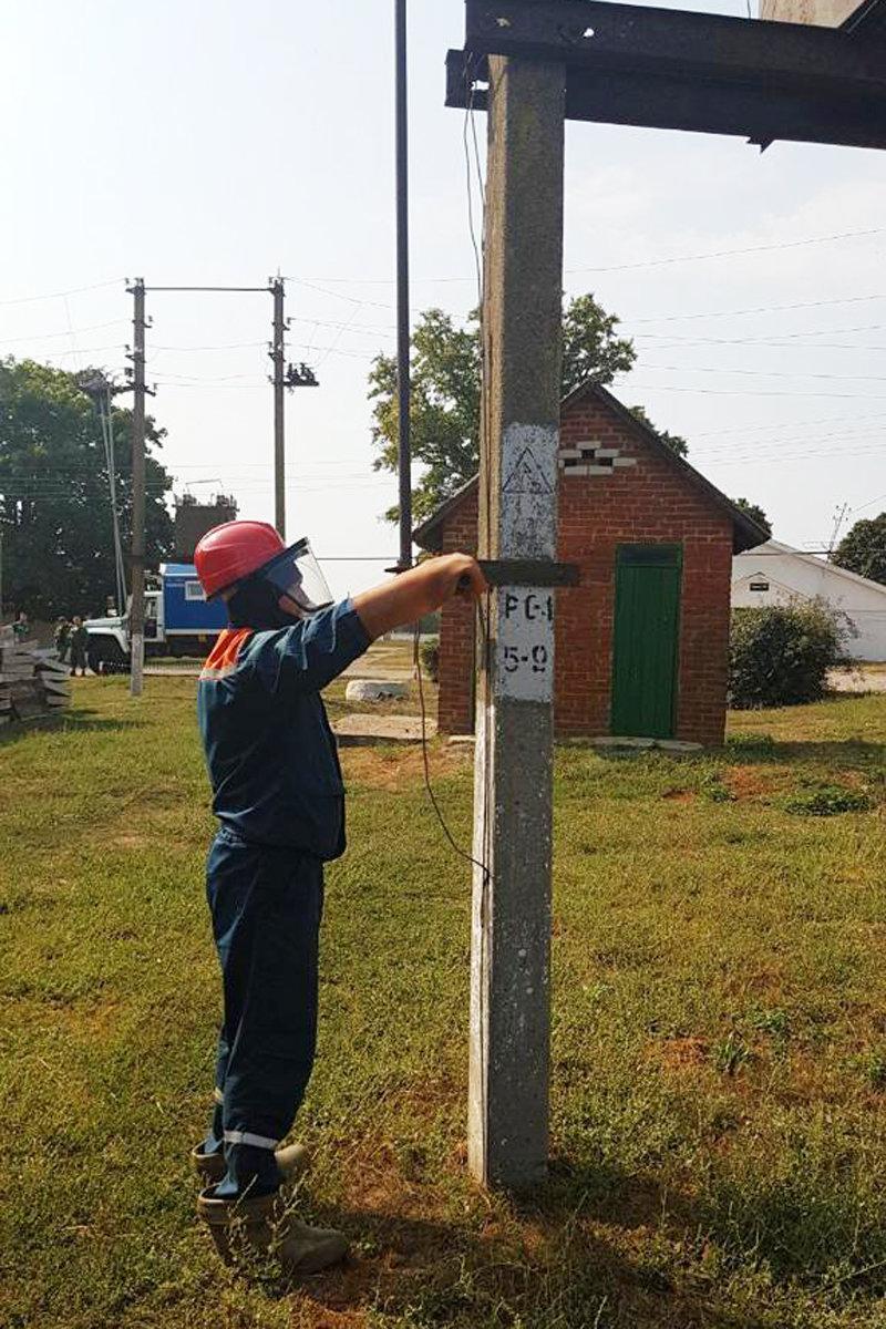 Белгородские энергетики восстановили электроснабжения после условной аварии, фото-2