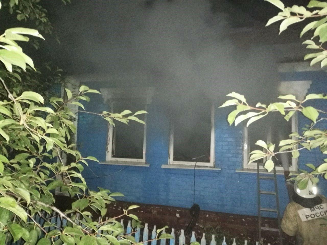 В Шебекинском районе в пожаре погибли двое мужчин, фото-1