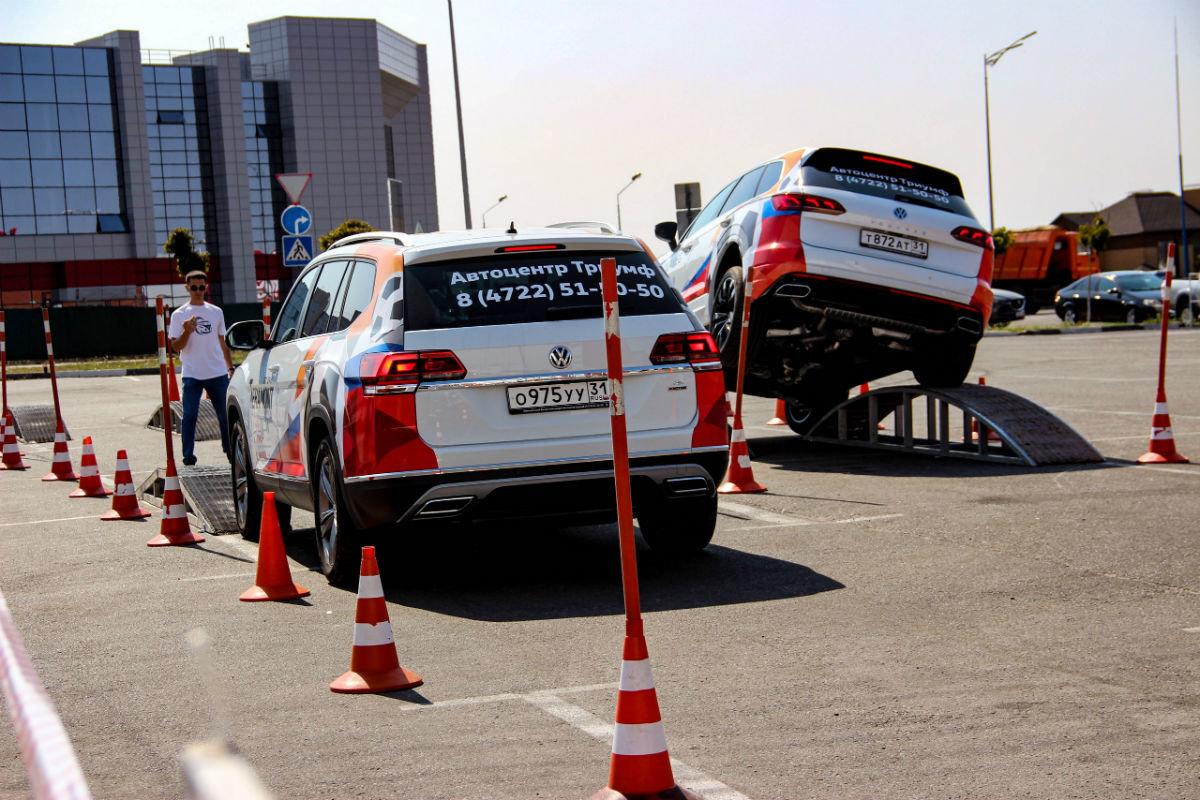 Белгородцы ощутили преимущества внедорожников Volkswagen, не выезжая из города, фото-10