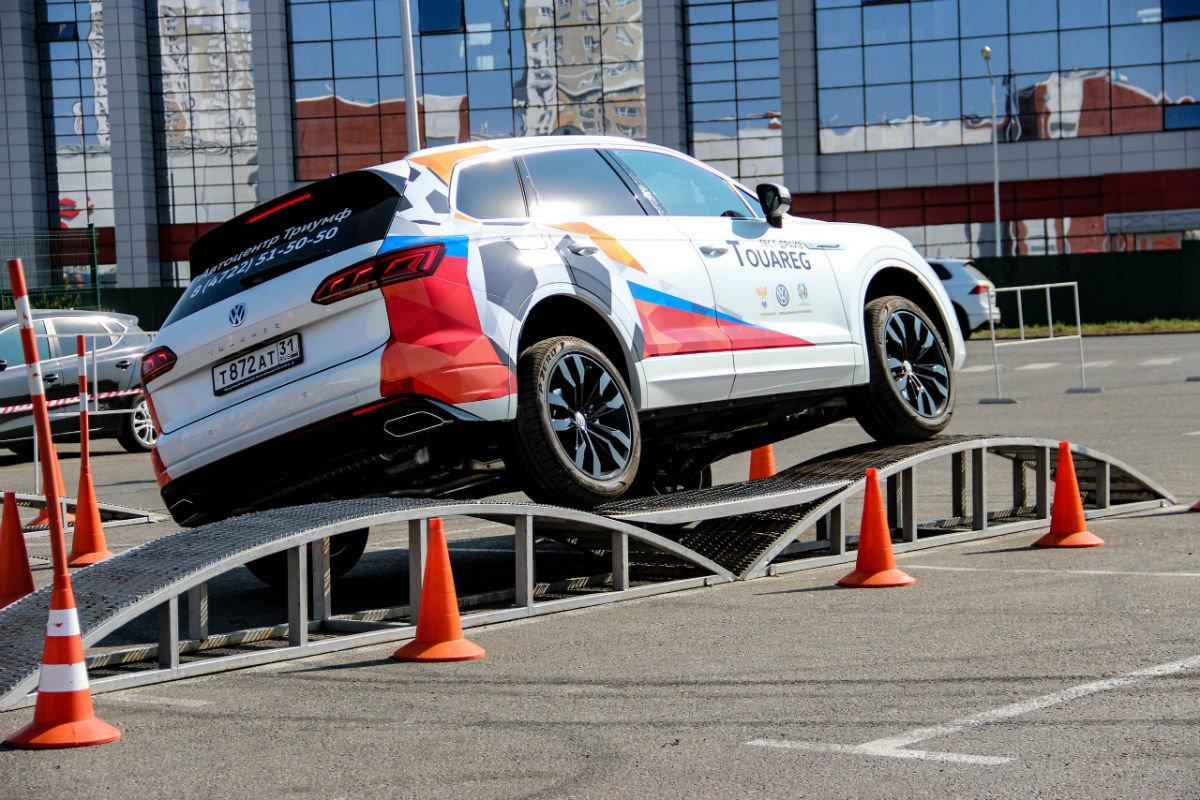 Белгородцы ощутили преимущества внедорожников Volkswagen, не выезжая из города, фото-9