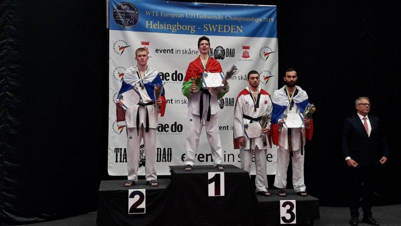Белгородские тхэквондисты завоевали медали первенства Европы , фото-3