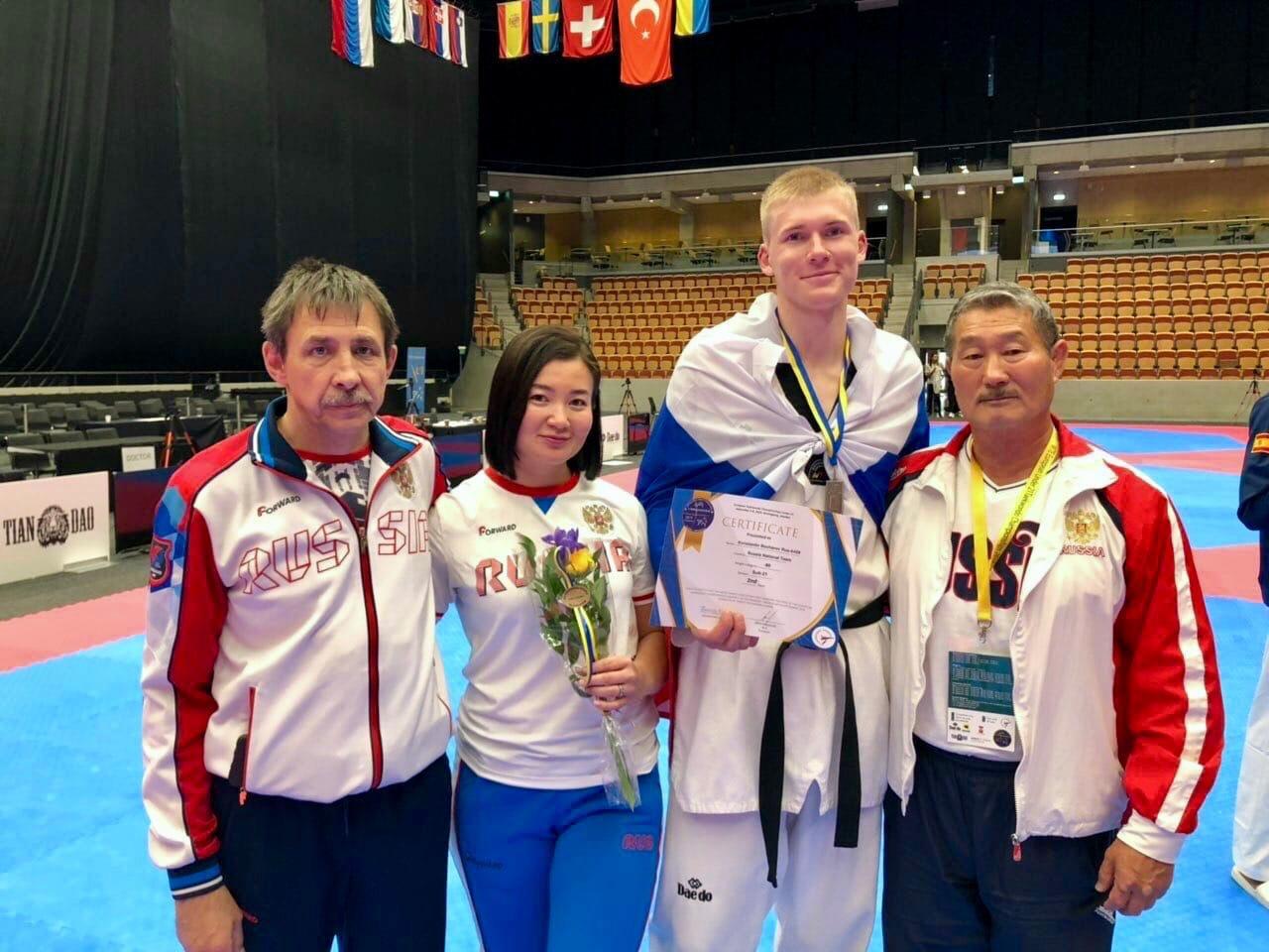 Белгородские тхэквондисты завоевали медали первенства Европы , фото-1