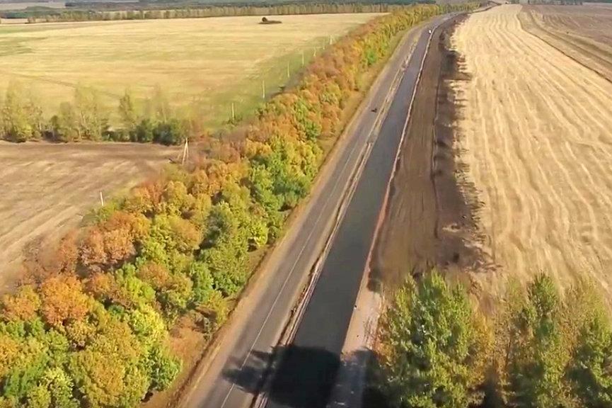 Четырёхполосную трассу под Прохоровкой откроют к маю 2020 года, фото-1