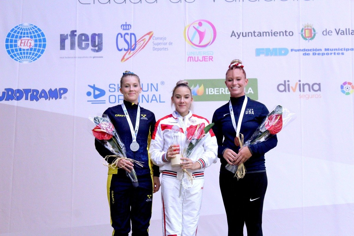 Белгородка выиграла этап Кубка мира по прыжкам на батуте, фото-1