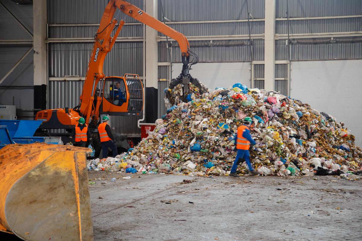 мусорный завод картинки этот редкий симпатичный