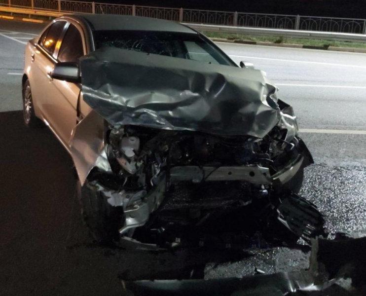 В аварии под Новым Осколом пострадали двое детей, фото-1