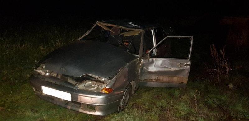 На белгородской трассе в ДТП погибла водительница перевернувшегося ВАЗа, фото-1