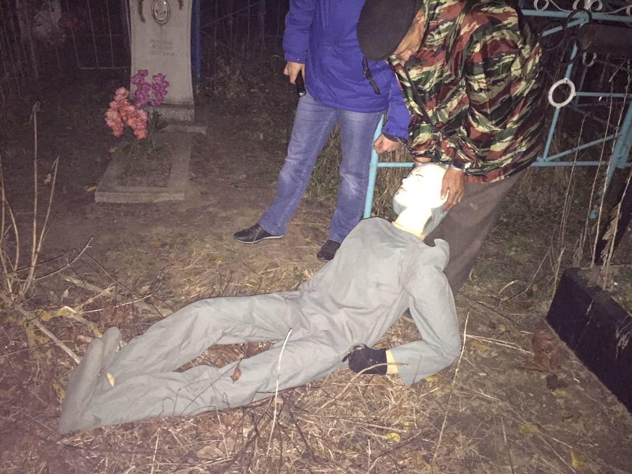 Белгородец убил старушку и закопал тело на кладбище, фото-1