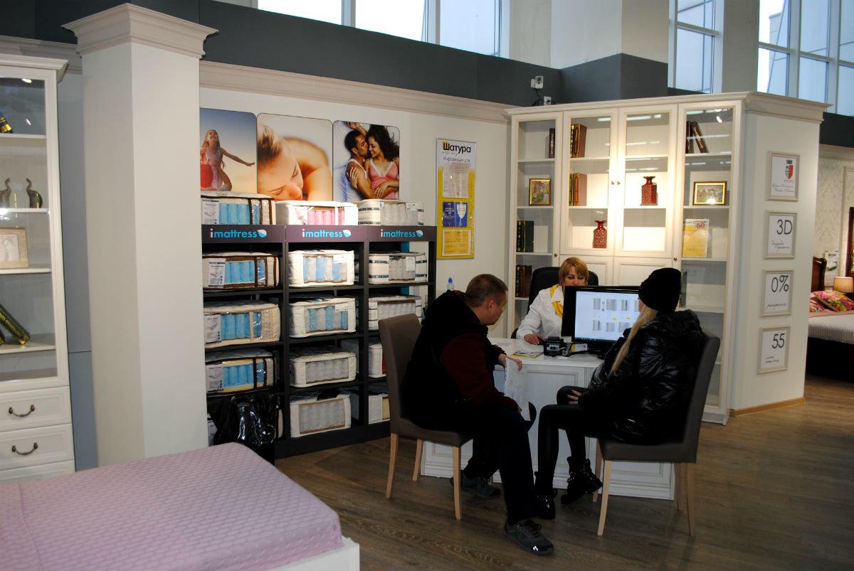 Салон мебели «Шатура» в торговом центре «Мебельный город» наградил первых покупателей, фото-2