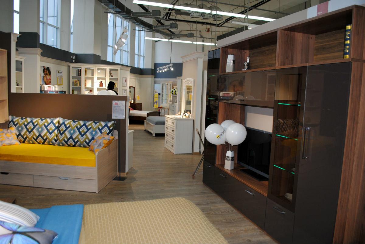 Салон мебели «Шатура» в торговом центре «Мебельный город» наградил первых покупателей, фото-4