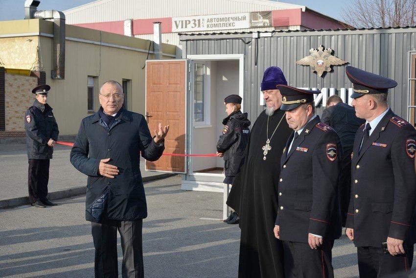 На Болховце открыли первый мобильный пункт полиции в Белгороде, фото-2