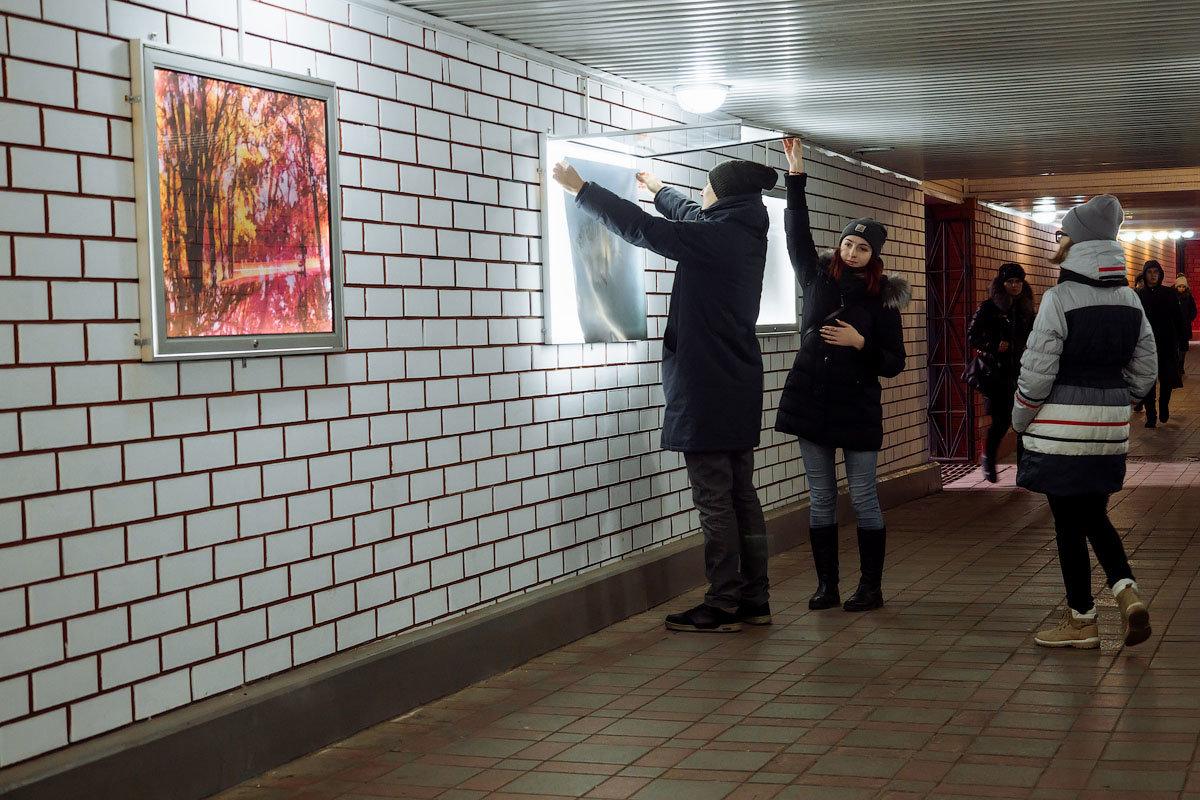 В подземной галерее Старого Оскола обновили экспозицию, фото-1