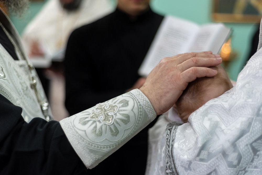 В следственном изоляторе Белгорода крестили младенца, фото-4
