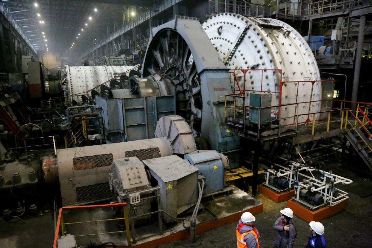 На крупнейшем предприятии региона установлено новое оборудование для обработки руды, фото-1