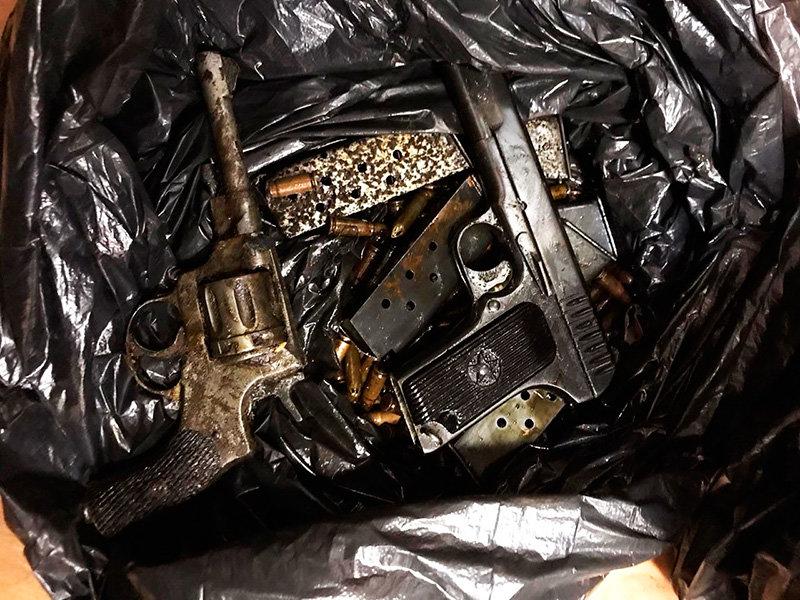 В Белгородской области у «чёрного копателя» нашли целый арсенал , фото-5, Фото: пресс-служба управления МВД по Белгородской области