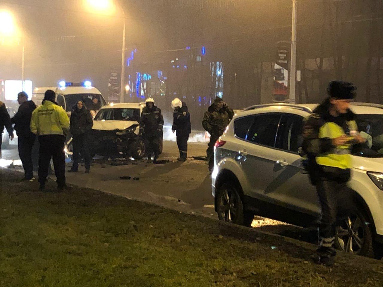 В Белгороде ДТП с четырьмя машинами парализовало движение на Богданке , фото-4
