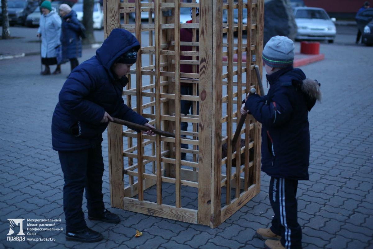Дед Мороз и Снегурочка поздравили с новогодними праздниками жителей 15-го округа Белгорода, фото-2