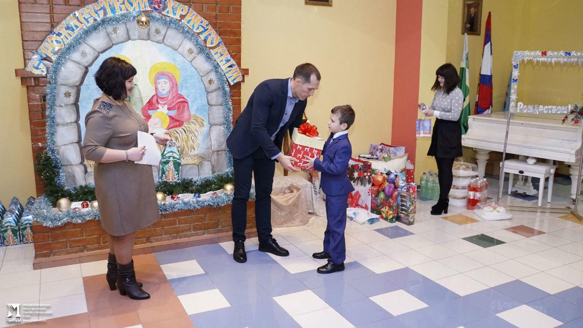 Время волшебства и чудес. Профсоюз «Правда» поздравил с Новым годом воспитанников детских домов, фото-5