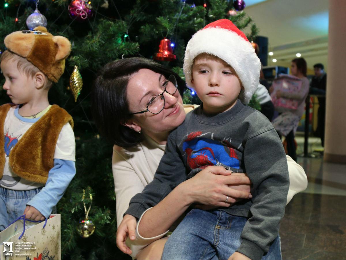 Время волшебства и чудес. Профсоюз «Правда» поздравил с Новым годом воспитанников детских домов, фото-22