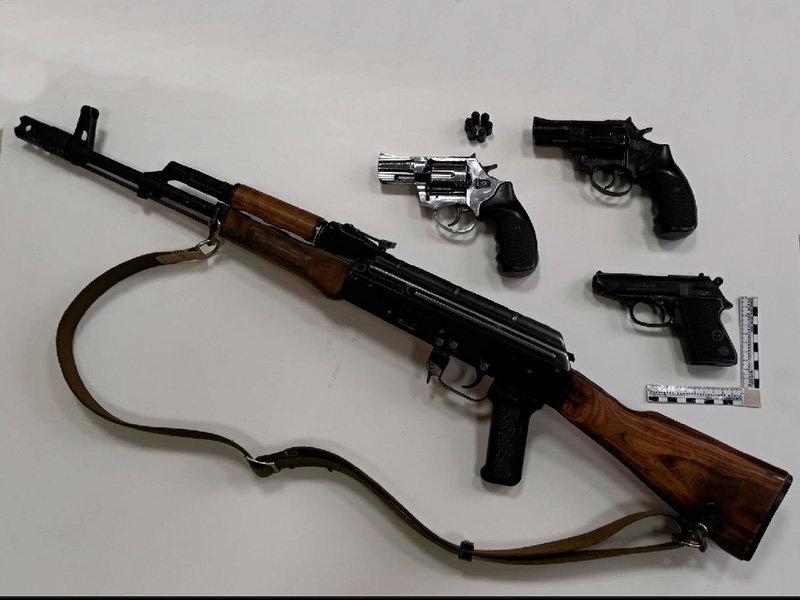 Под Белгородом задержали автомобилиста с арсеналом оружия, фото-1