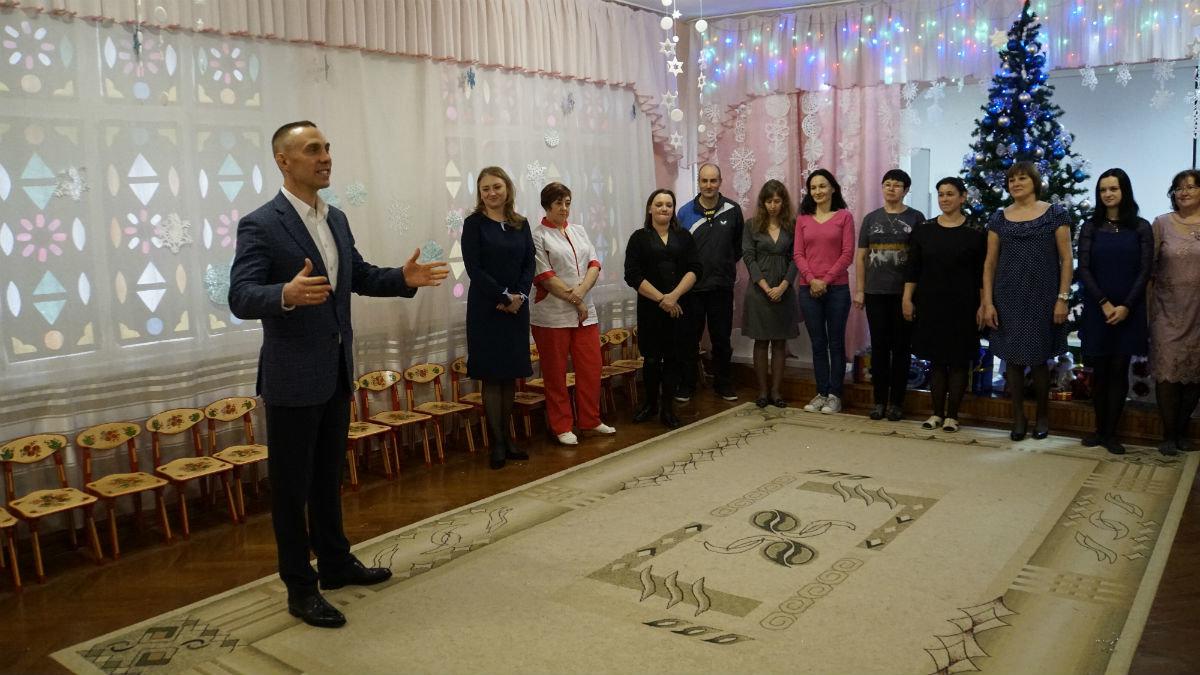 Наступает время чудес. Новогодний экспресс поздравлений прибыл на 15-й округ Белгорода, фото-2