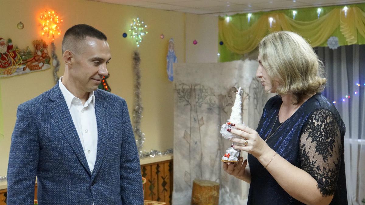 Наступает время чудес. Новогодний экспресс поздравлений прибыл на 15-й округ Белгорода, фото-5