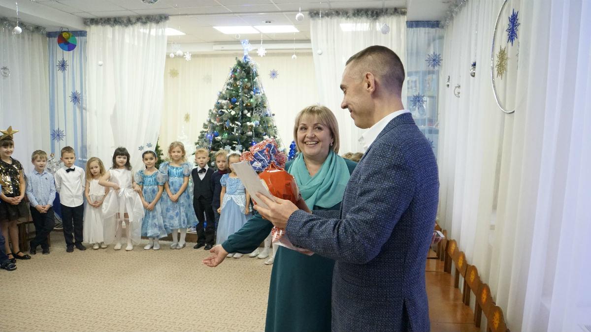 Наступает время чудес. Новогодний экспресс поздравлений прибыл на 15-й округ Белгорода, фото-12