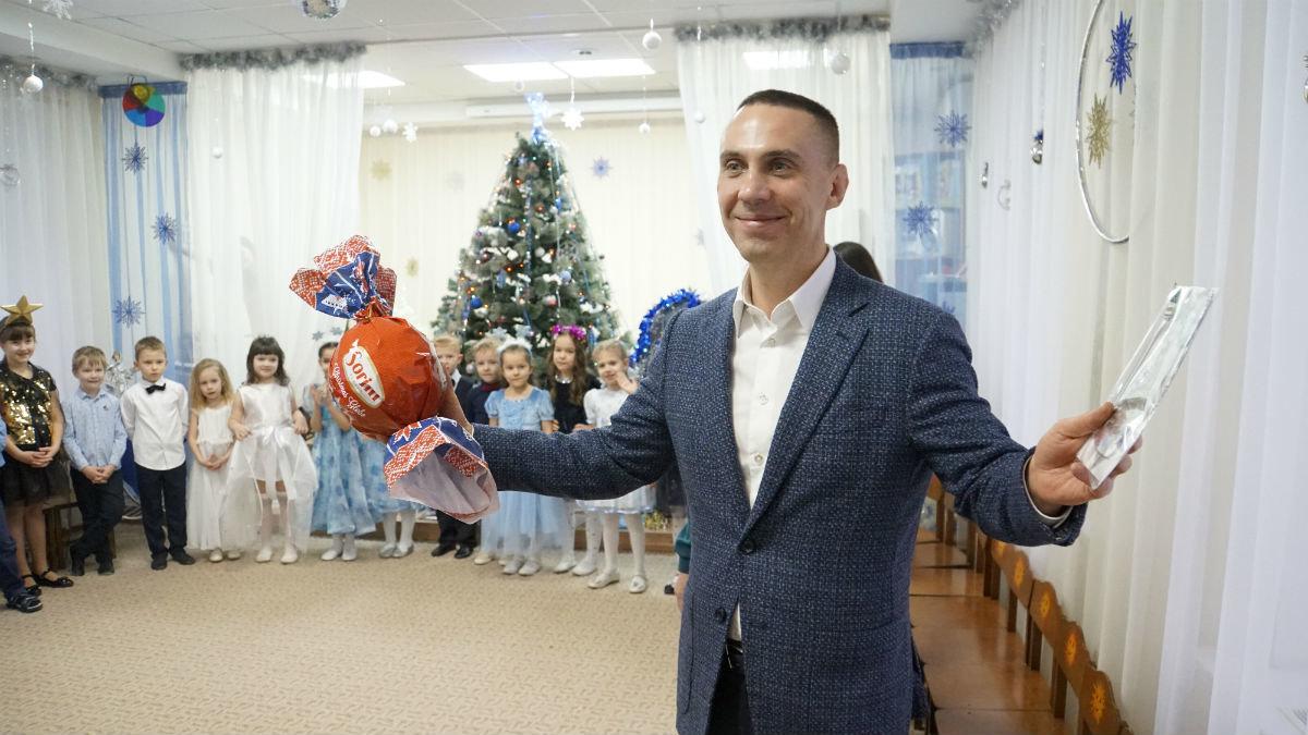 Наступает время чудес. Новогодний экспресс поздравлений прибыл на 15-й округ Белгорода, фото-16