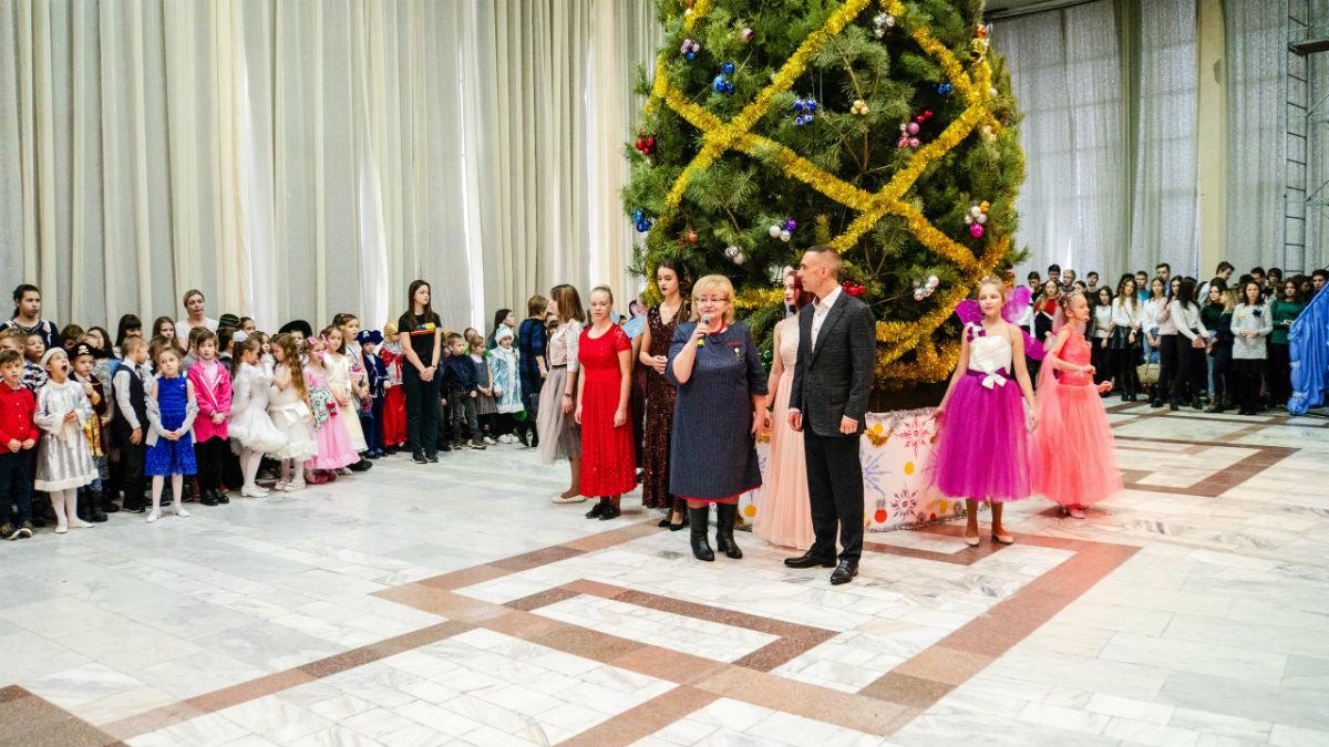 Наступает время чудес. Новогодний экспресс поздравлений прибыл на 15-й округ Белгорода, фото-27