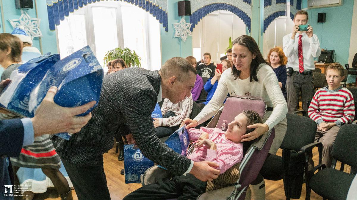Профсоюз «Правда» организовал новогодние праздники для своих маленьких друзей, фото-9