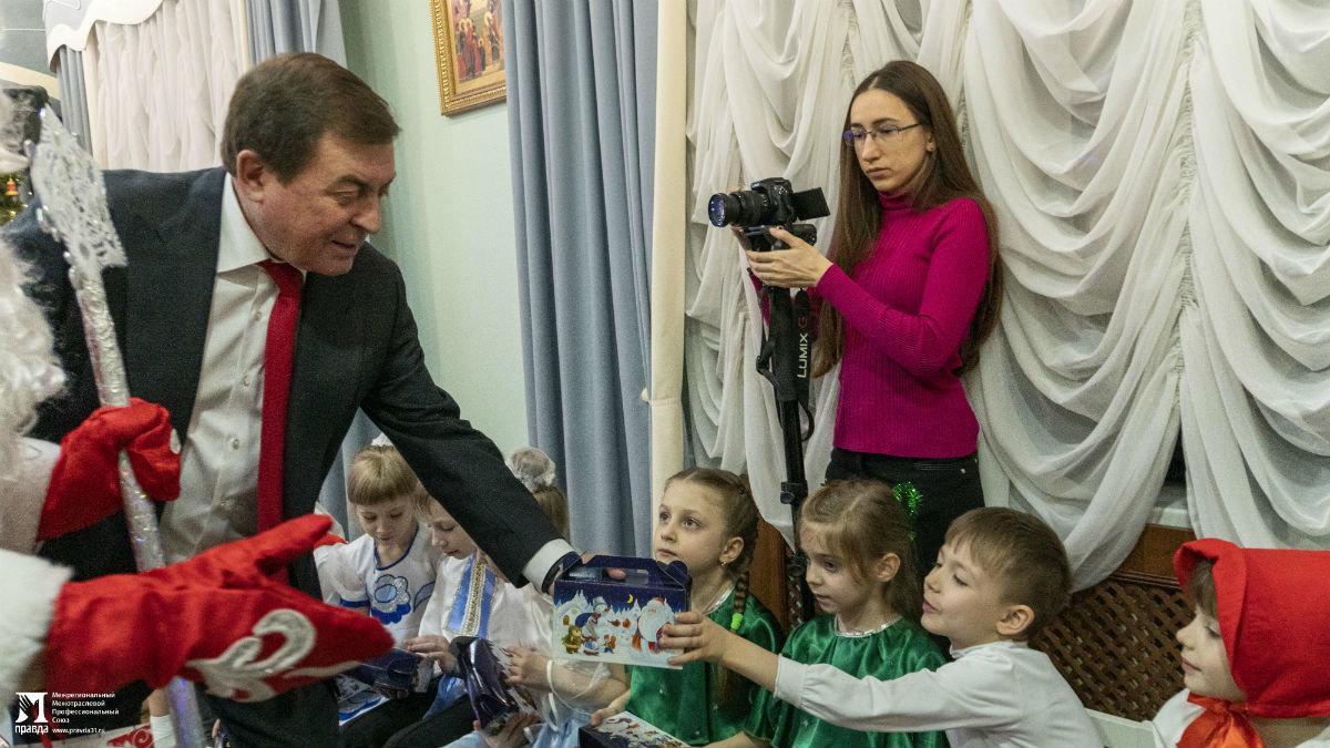 Профсоюз «Правда» организовал новогодние праздники для своих маленьких друзей, фото-2