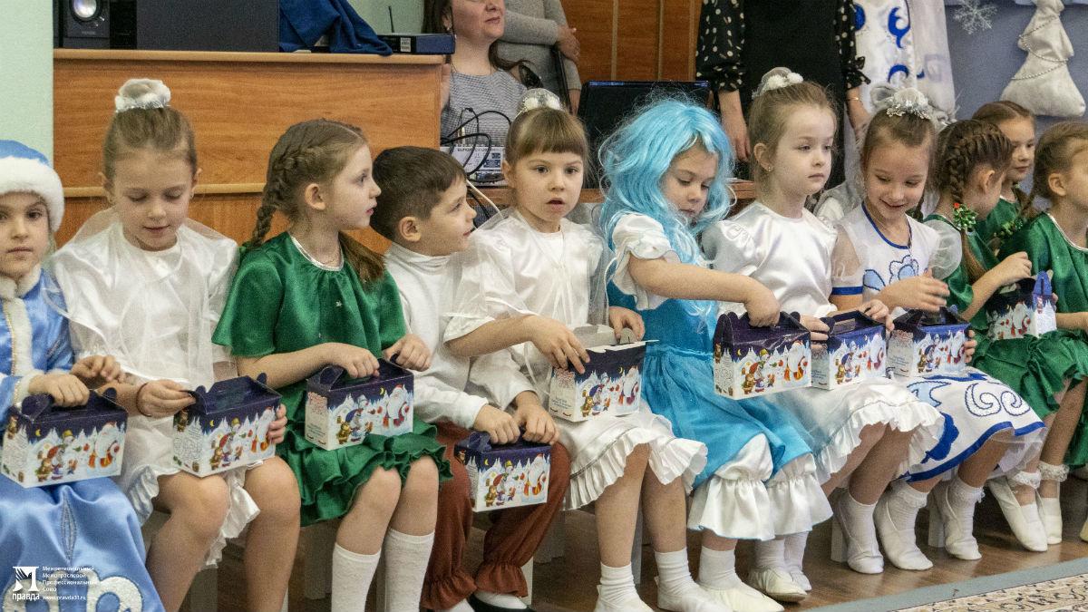 Профсоюз «Правда» организовал новогодние праздники для своих маленьких друзей, фото-3