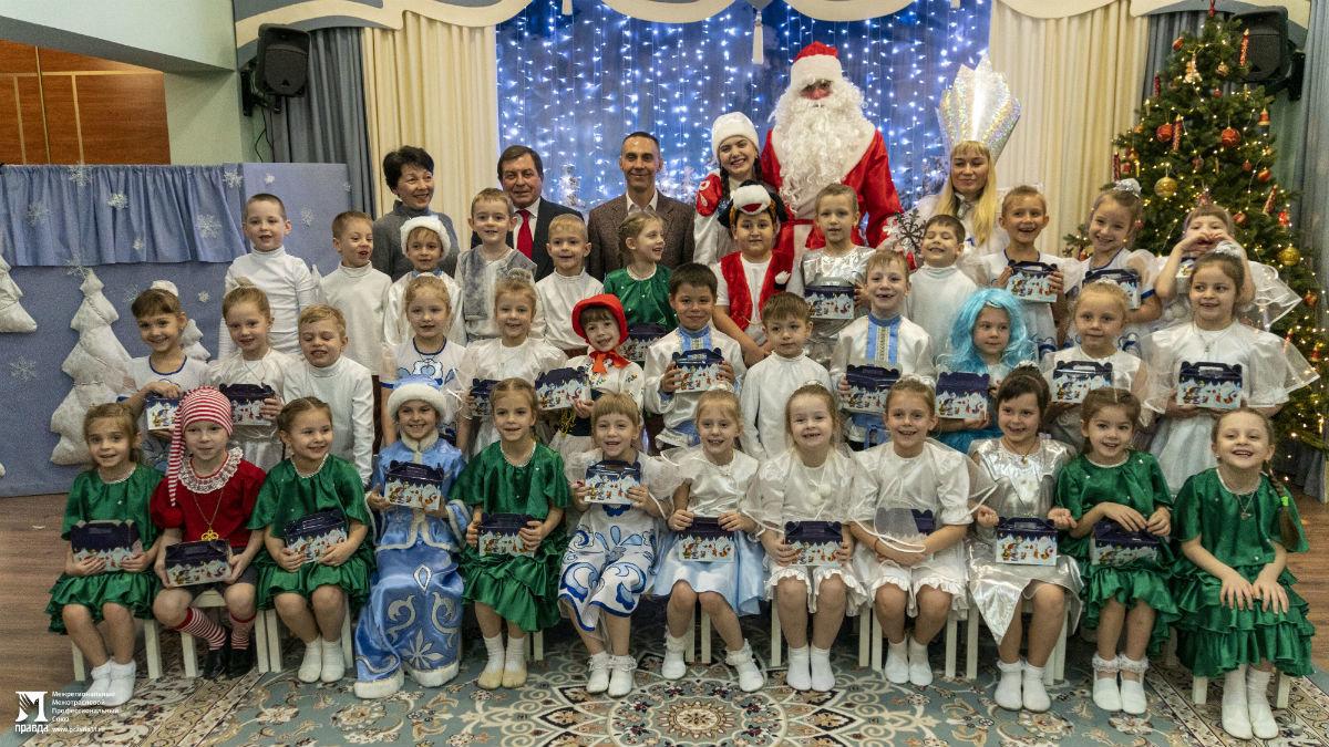 Профсоюз «Правда» организовал новогодние праздники для своих маленьких друзей, фото-4