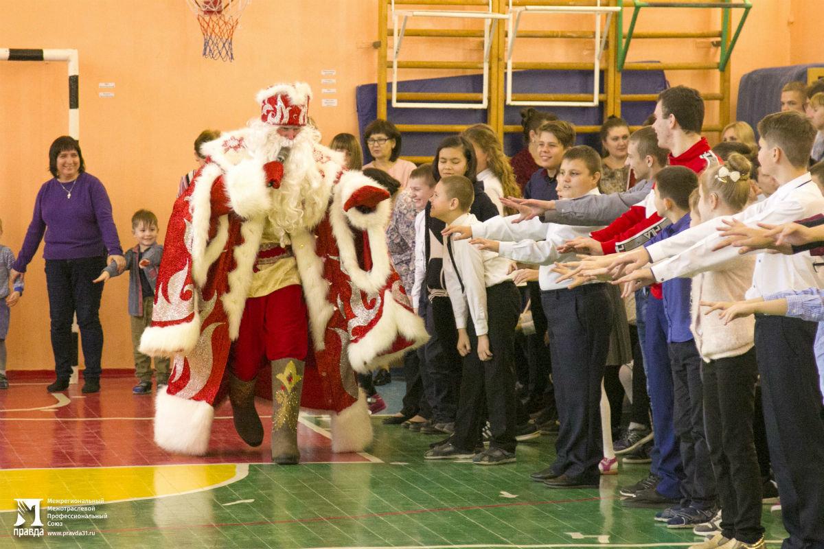 Профсоюз «Правда» организовал новогодние праздники для своих маленьких друзей, фото-23