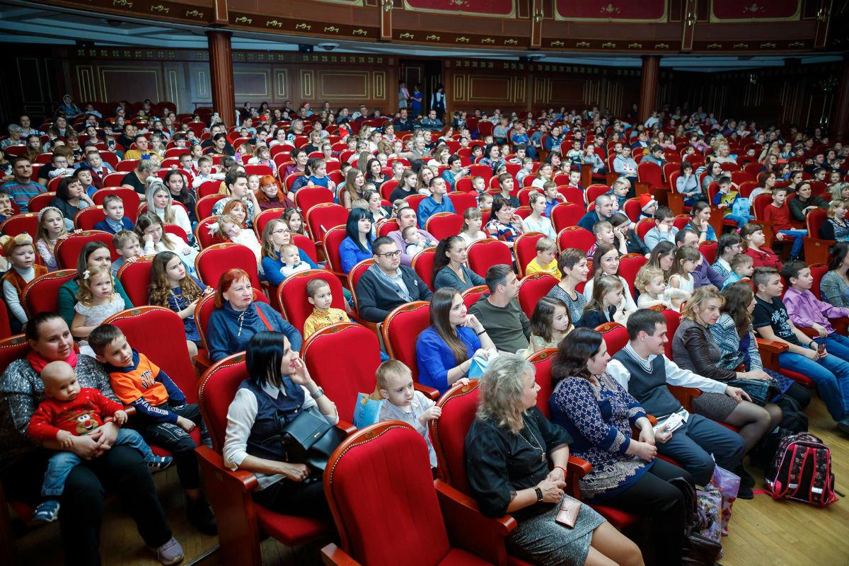 Профсоюз «Правда» организовал новогодние утренники для двух тысяч маленьких белгородцев, фото-10