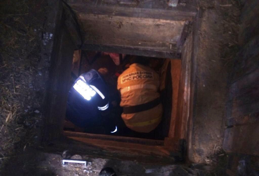 Спасатели пришли на помощь упавшей в погреб белгородке, фото-1