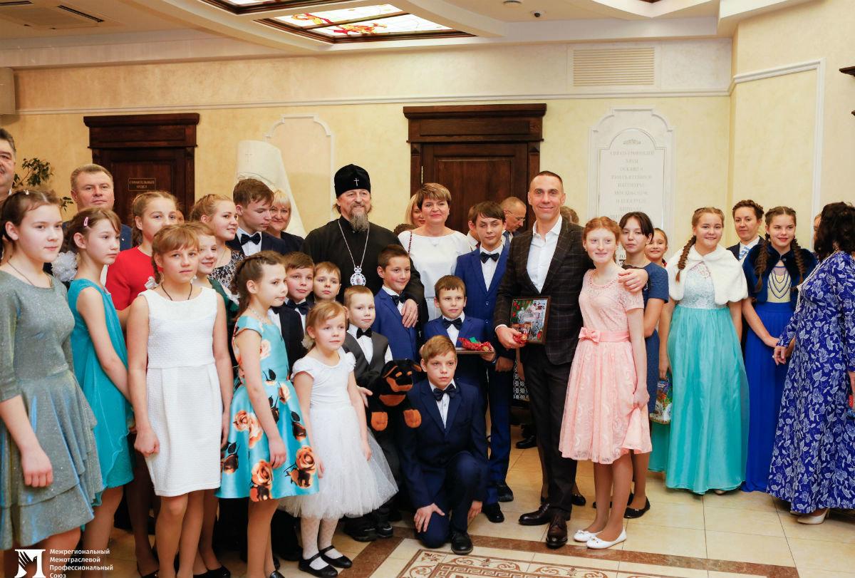 В Белгородской митрополии прошёл семейный праздник для детей из социальных центров, фото-20