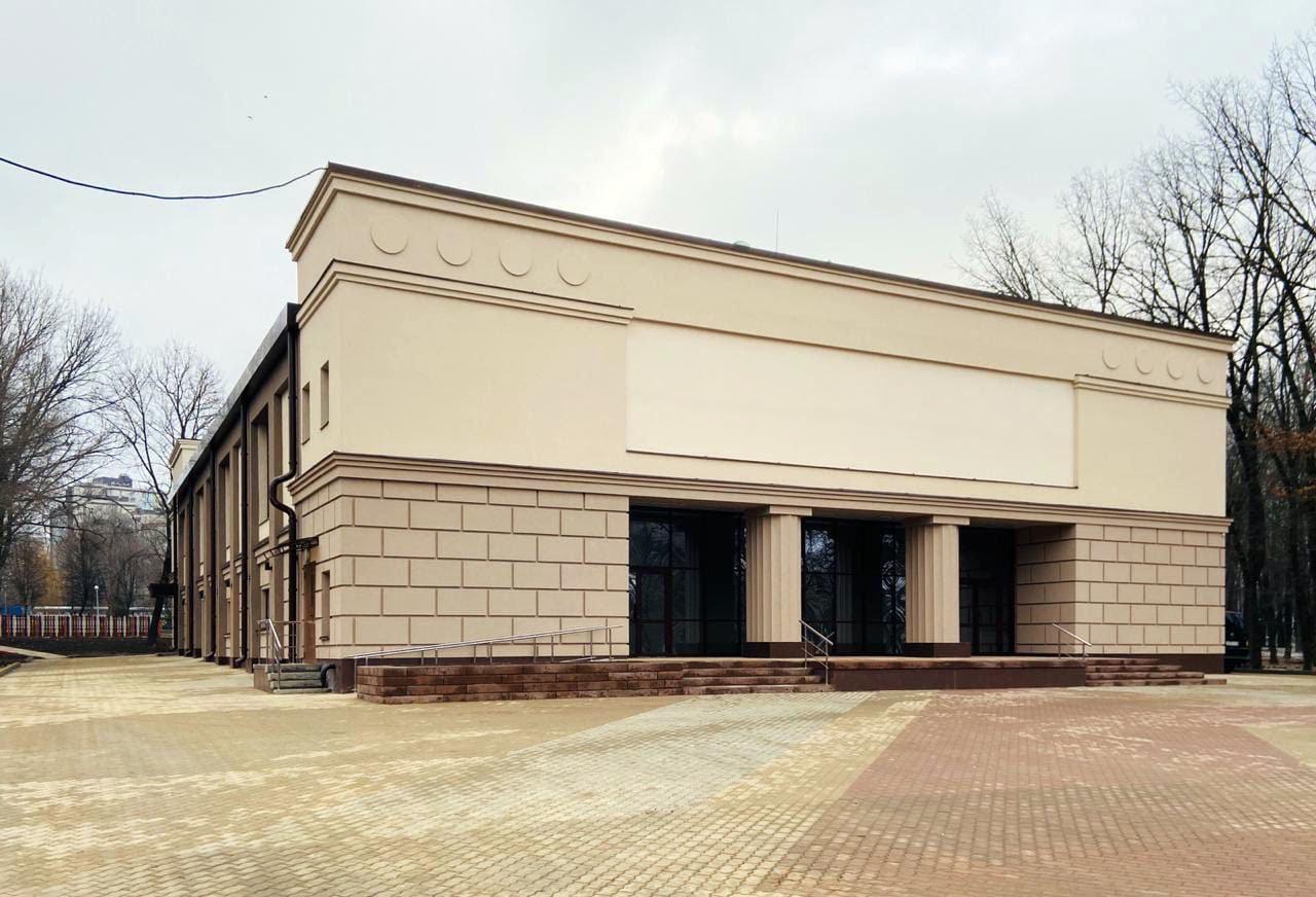 Мэр Белгорода показал здание обновлённого «Октября», фото-1, Фото со страницы Юрия Галдуна во «ВКонтакте»