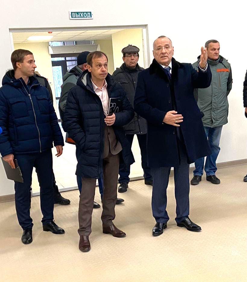 Мэр Белгорода показал здание обновлённого «Октября», фото-2, Фото со страницы Юрия Галдуна во «ВКонтакте»