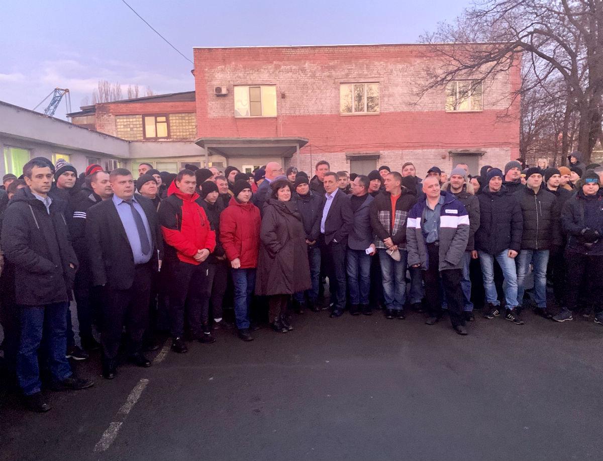 Работники Лебединского ГОКа встретились с руководством «Металлоинвеста», фото-2