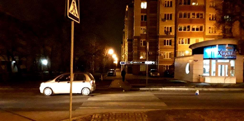 В Белгороде на «зебре» сбили 17-летнюю девушку, фото-1