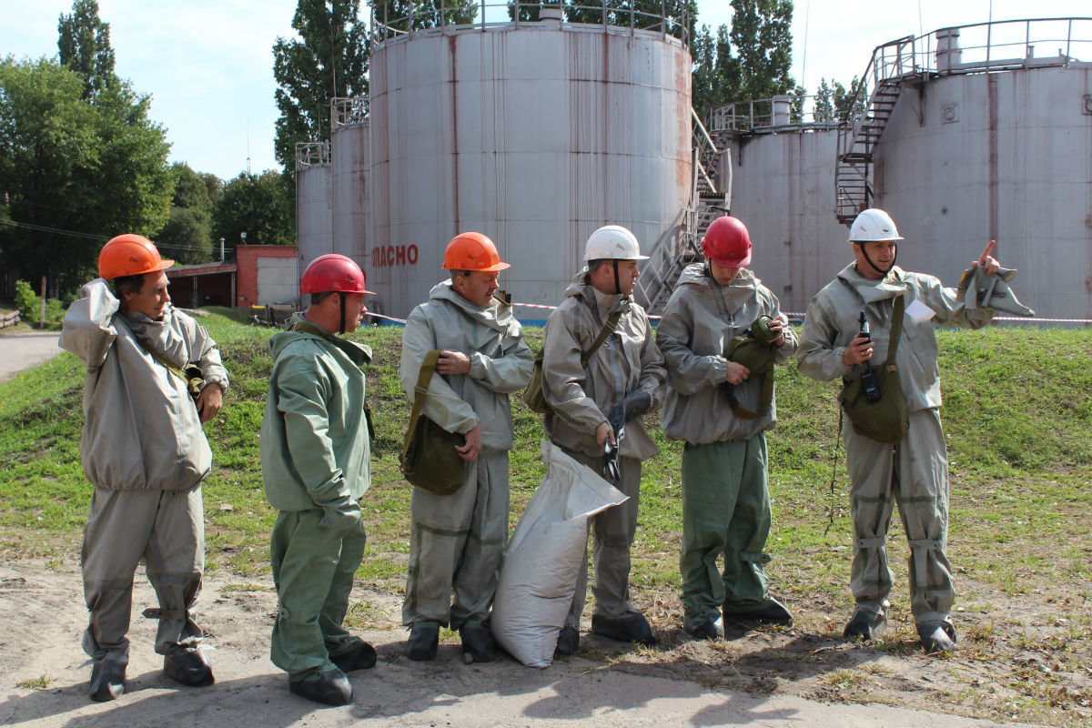 Лебединский ГОК признан лучшим в Губкине по содержанию объектов гражданской обороны, фото-1