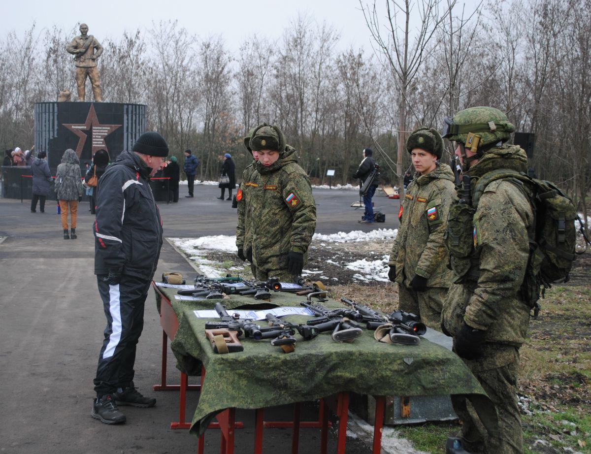 В Парке воинской славы Нового Оскола открылся памятник землякам, вернувшимся с войны, фото-9