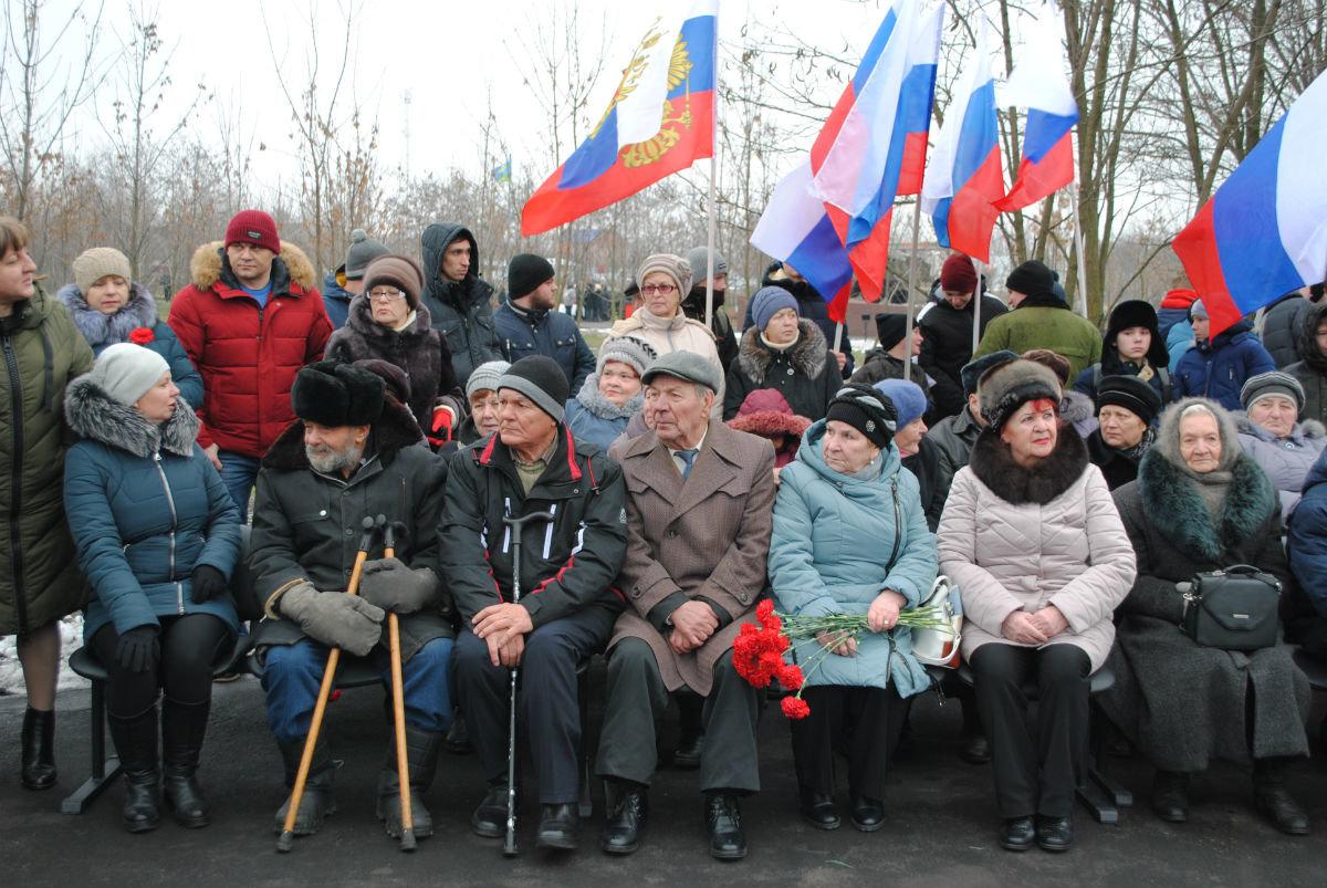 В Парке воинской славы Нового Оскола открылся памятник землякам, вернувшимся с войны, фото-2
