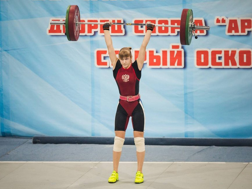 Оскольчанка установила 8 рекордов России по тяжёлой атлетике, фото-1