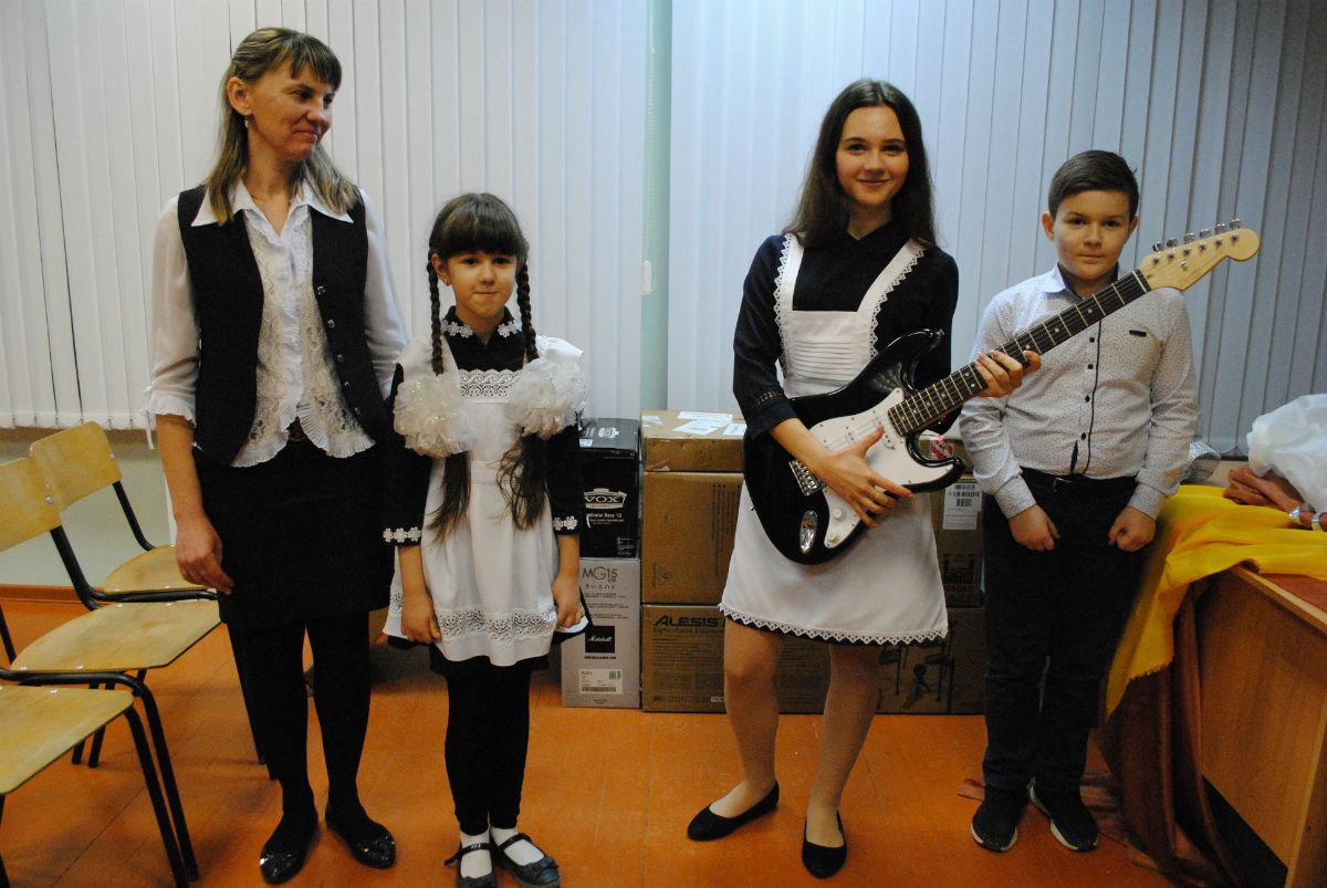 Ученики сельской школы Чернянского района создадут полноценный музыкальный коллектив, фото-3