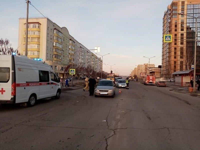 Под Белгородом ВАЗ влетел в КамАЗ, фото-2