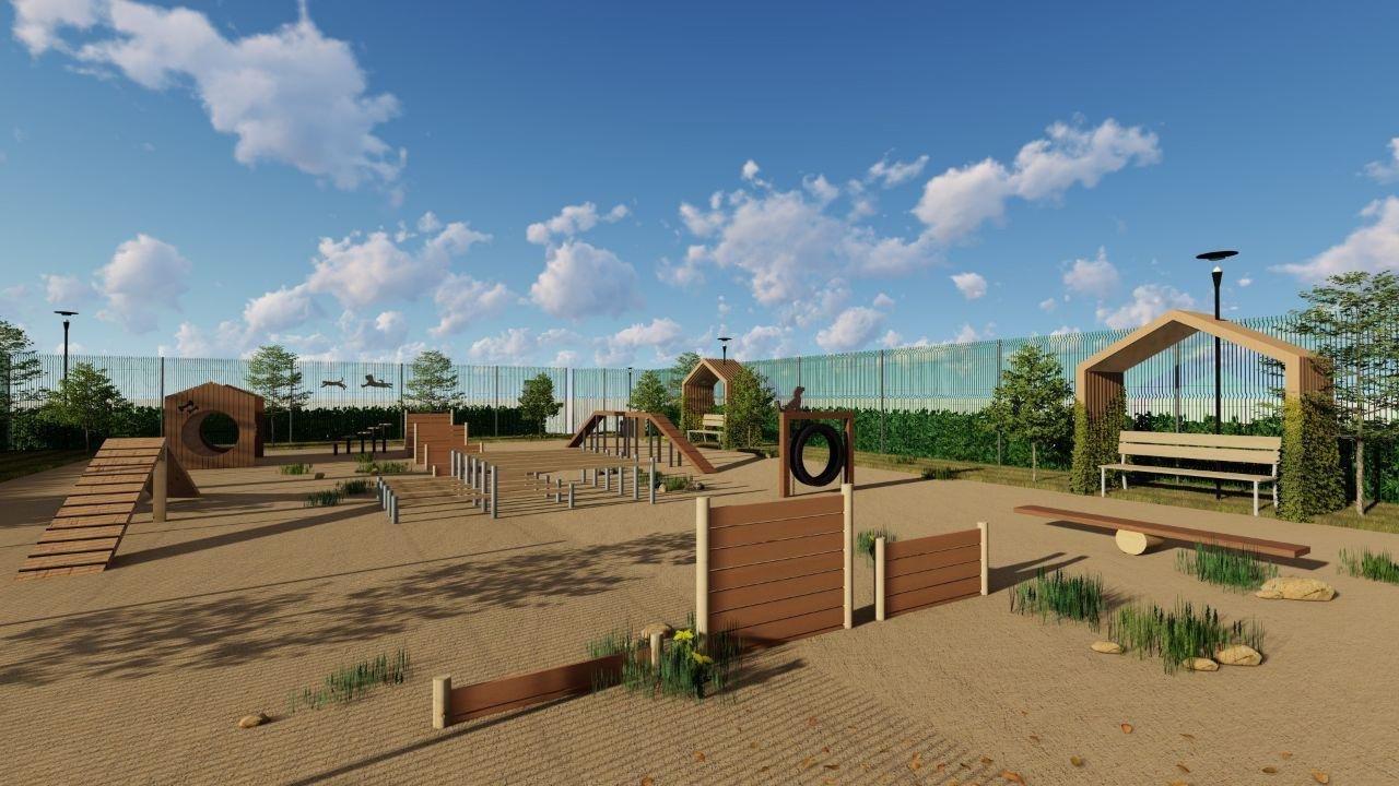 В Белгороде появятся 10 площадок для выгула собак, фото-1